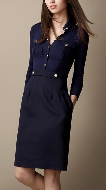 Burberry - Vintage Heritage Shirt Dress