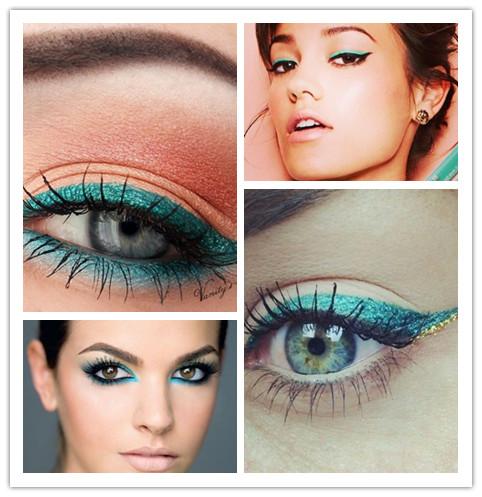 Colorful Eyeliners: Blue Eyeliners