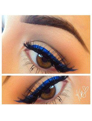 Colorful Eyeliners: Dark Blue Eyeliners