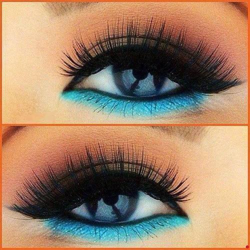Colorful Eyeliners: Warm Eyes