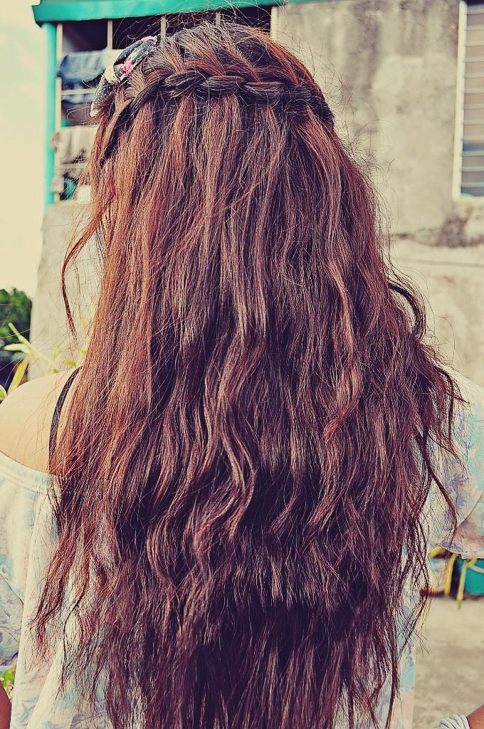 Crown Braid for Long hair