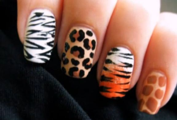 Cute Polish - 15 Animal Print Nail Ideas - Pretty Designs