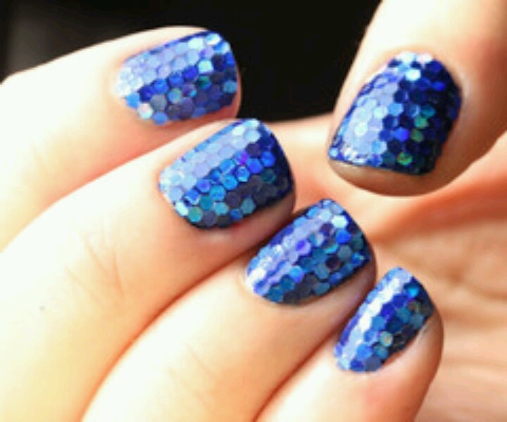 16 Amazing Fish Scale Nail Ideas Pretty Designs