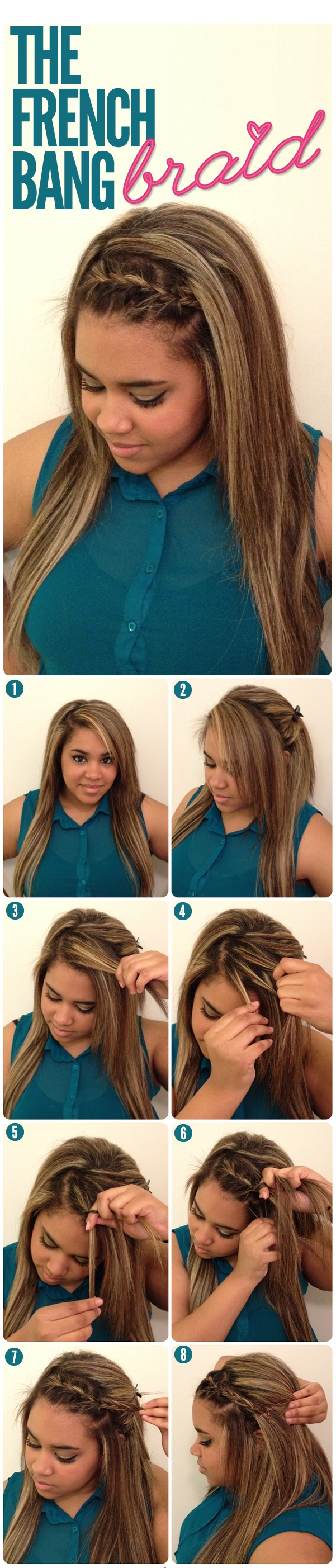 French Bang Braid