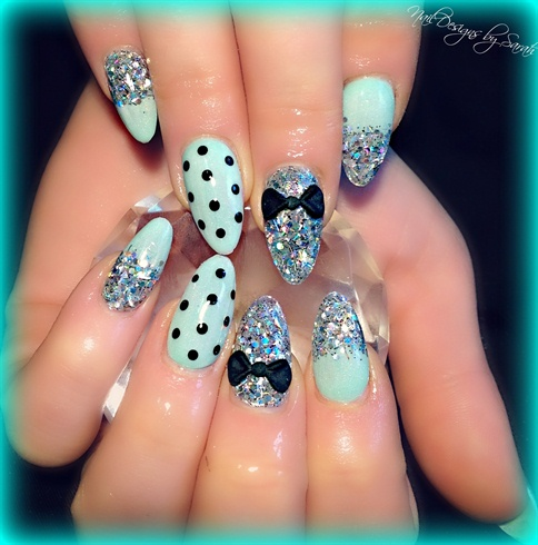 15 Stiletto Nail Art Ideas You Won T Miss Pretty Designs