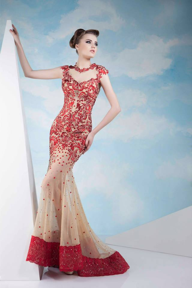 15 Gorgeous Evening Dresses for Spring/Summer 2014 by Tony Chaaya ...