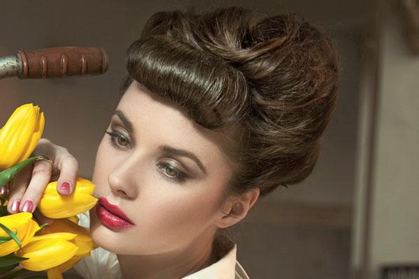 17 manieren om de vintage kapsels te maken