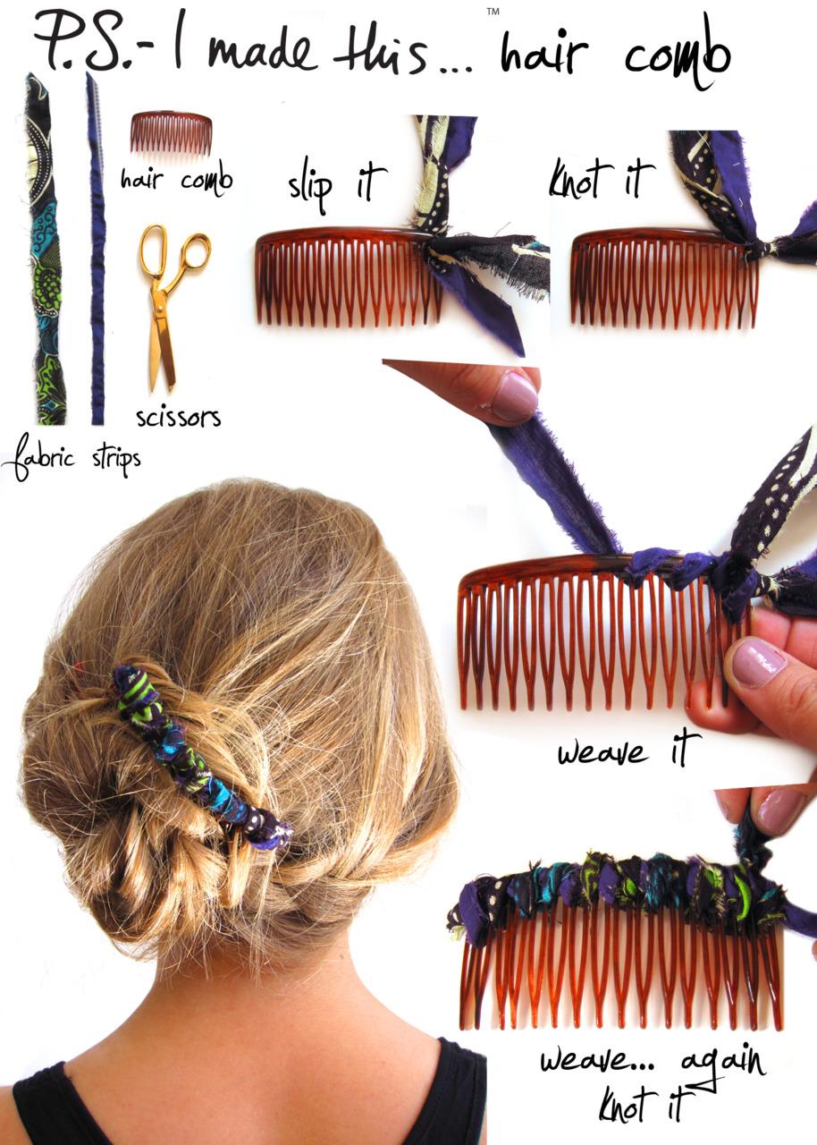 Сделать гребень для волос