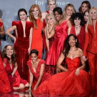 Heart Truth Red Dress Collection Show at New York Fashion Week
