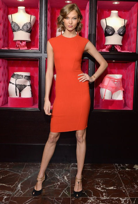 Karlie Kloss Shows Us How to Rock the Color of the Season - Orange