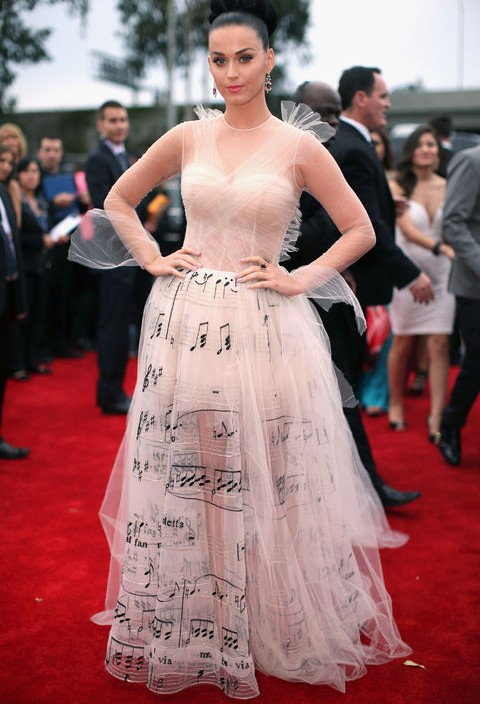 How to Wear the Music-Note Print Trend Inspired From Katy Perry\'s ...