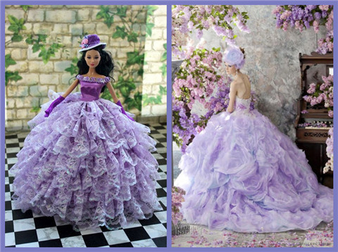 Barbie Gowns – fashion dresses