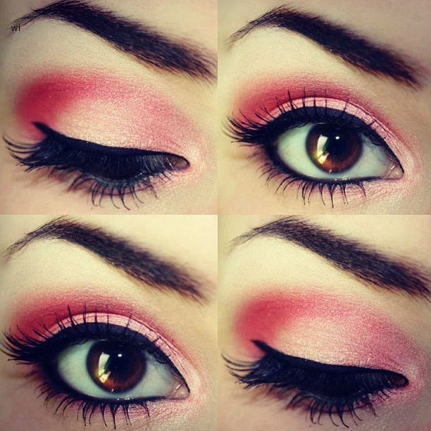 Pretty Pink Eye Makeup Tutorials And Ideas For A Romantic Valentineu0026#39;s Day - Pretty Designs