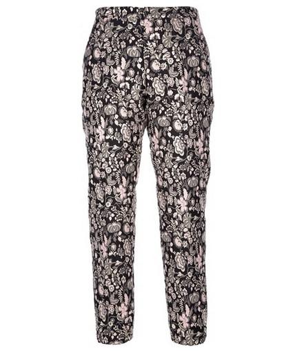 MSGM Floral Brocade Trouser