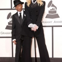 Madonna's Ralph Lauren Tuxedo Suit at the Grammys Red Carpet