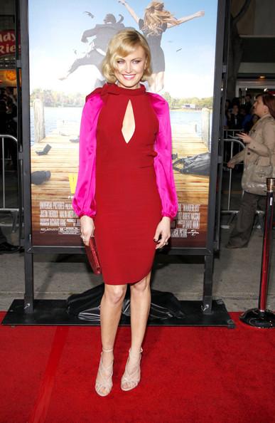 Malin Akerman in a keyhole Sonia Rykiel dress