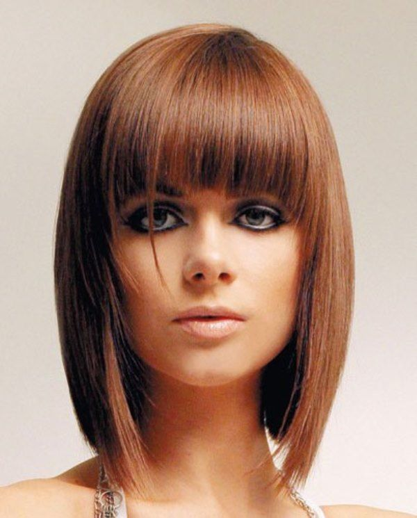 Superb 18 Trendy Hairstyles With Bangs For This Season Pretty Designs Short Hairstyles Gunalazisus