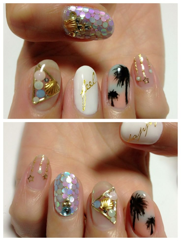15 Ocean Nail Arts Pretty Designs
