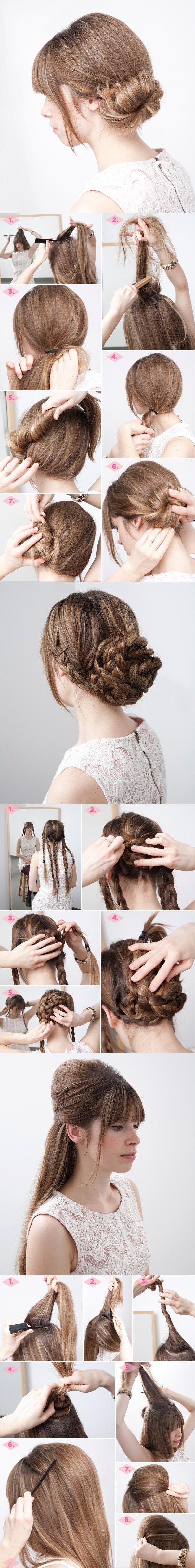 Terrific 13 Rather Simple Bun Hairstyles Tutorials For 2014 Pretty Designs Short Hairstyles Gunalazisus