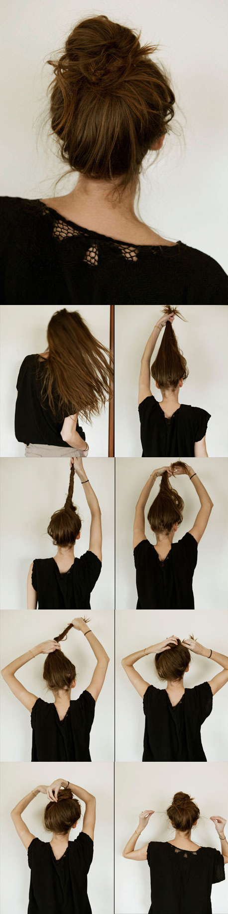 Peachy 13 Rather Simple Bun Hairstyles Tutorials For 2014 Pretty Designs Hairstyle Inspiration Daily Dogsangcom