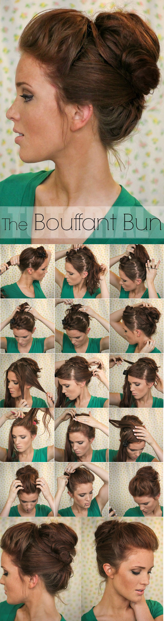 Incredible 13 Rather Simple Bun Hairstyles Tutorials For 2014 Pretty Designs Hairstyle Inspiration Daily Dogsangcom