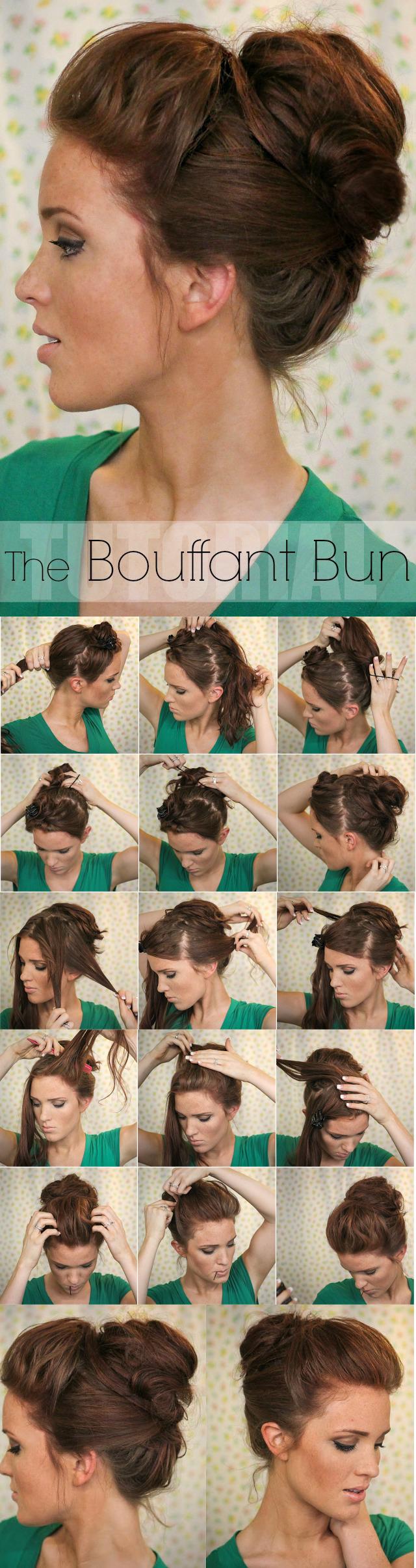 Sensational 13 Rather Simple Bun Hairstyles Tutorials For 2014 Pretty Designs Short Hairstyles Gunalazisus