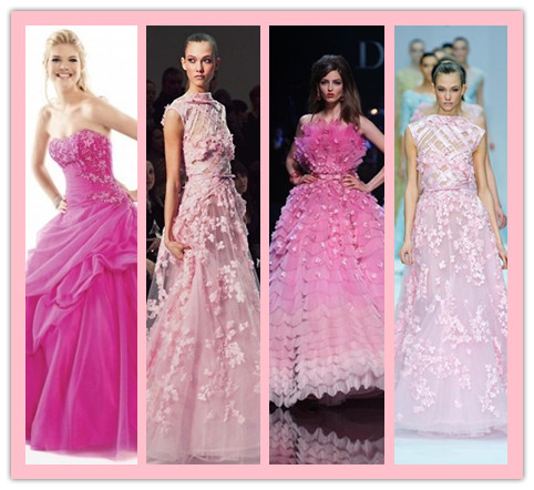 Fashionable and Adorable Barbie-inspired Dresses for Women:Pink Prom Gowns