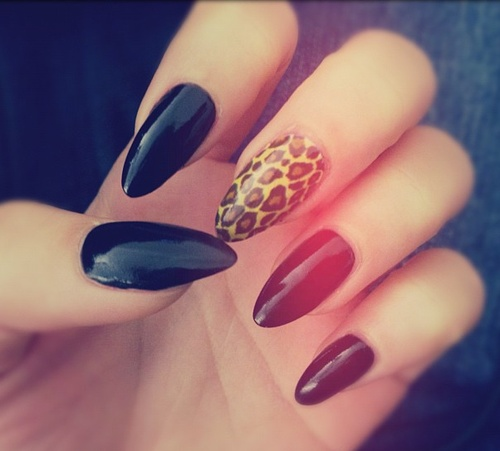 Pretty Pointy Nails