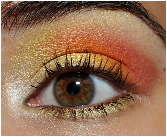 Shimmer Makeup Ideas: Pretty Coral