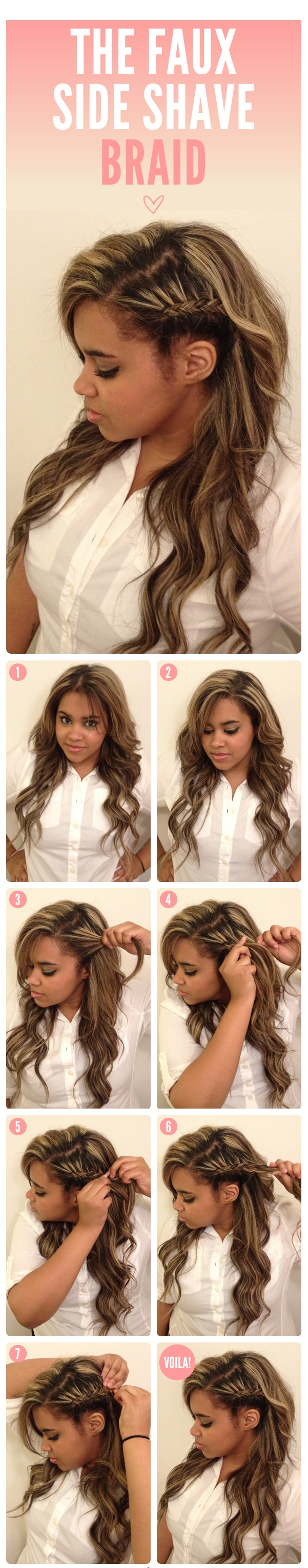 Wondrous 25 Diy Braided Hairstyles You Really Have To Pin Hairstyles For Women Draintrainus