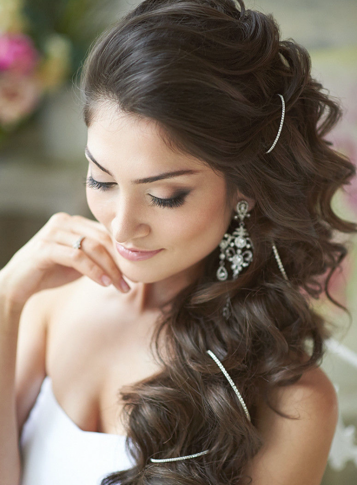 Wedding Hairstyles To The Side