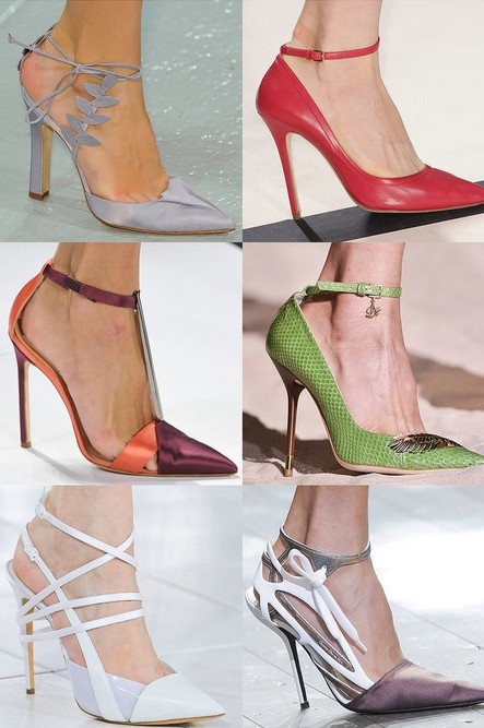 Spring Shoe Trend 1 - Ankle-Strap Pumps