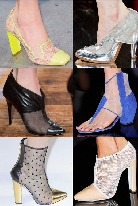 Spring Shoe Trend 2 - Sheer