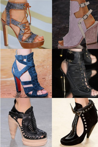 Spring Shoe Trend 3 - Summer Booties