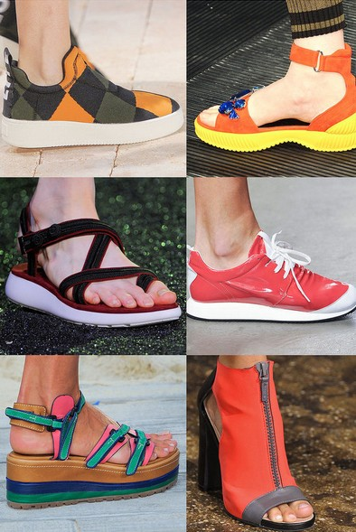 Spring Shoe Trend 5 - Summer Camp