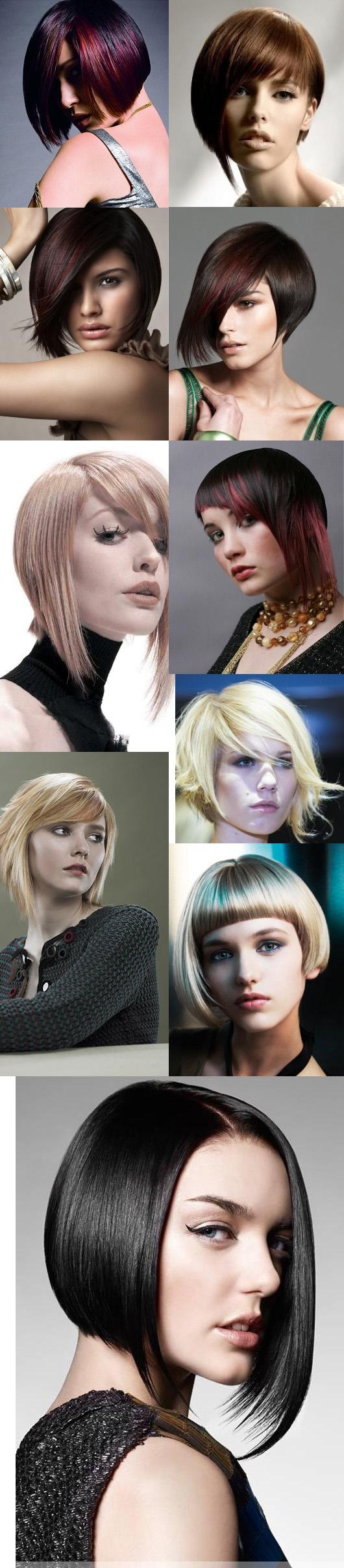 Stunning Asymmetrical Bob Hairstyles