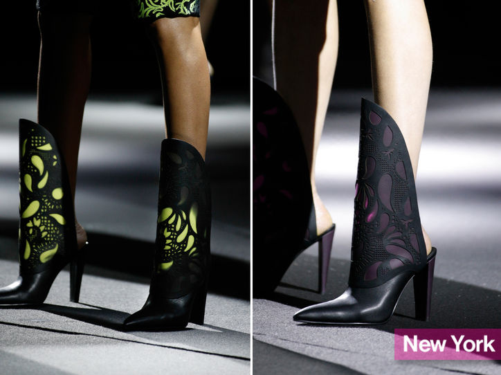 Stylish Shoe Trend from New York Fashion Week: Alexander Wang's Backless Boots