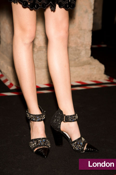 Stylish Shoe Trend from New York Fashion Week: Erdem's Sparkly Heels