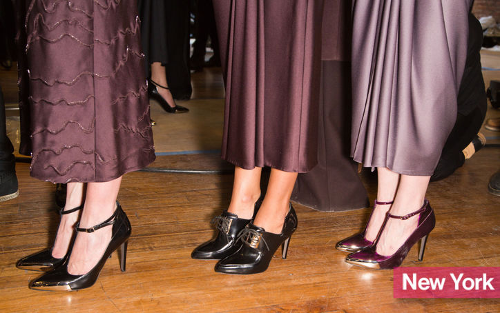 Stylish Shoe Trend from New York Fashion Week: Jason Wu's Ladylike T-Strap Heels