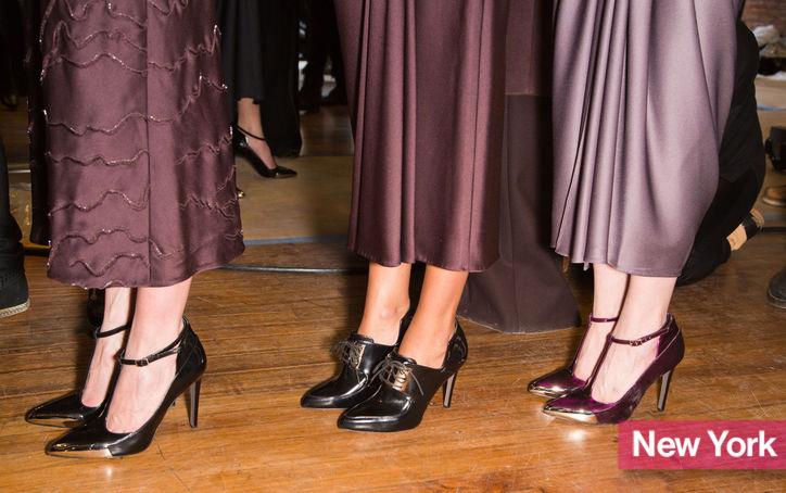 Stylish Shoe Trend from New York Fashion Week: Jason Wu's Ladylike T-Strap Heels