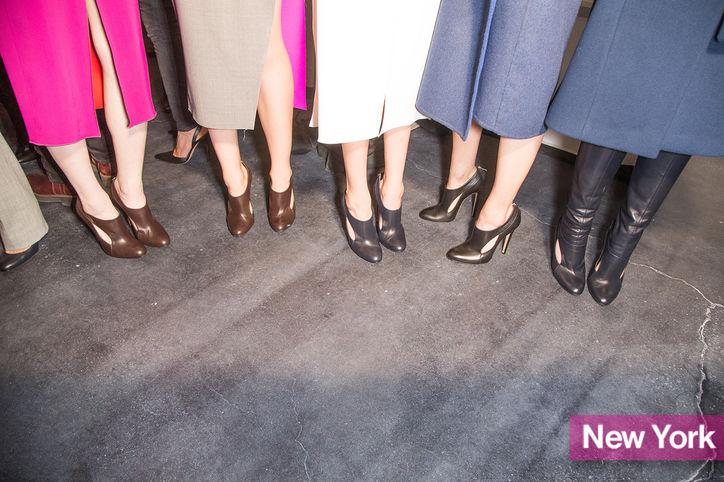 Stylish Shoe Trend from New York Fashion Week: Joseph Altuzarra's Cutout Booties