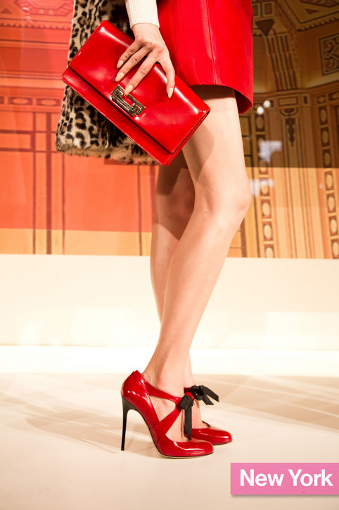 Stylish Shoe Trend from New York Fashion Week: Kate Spade's Red Pumps