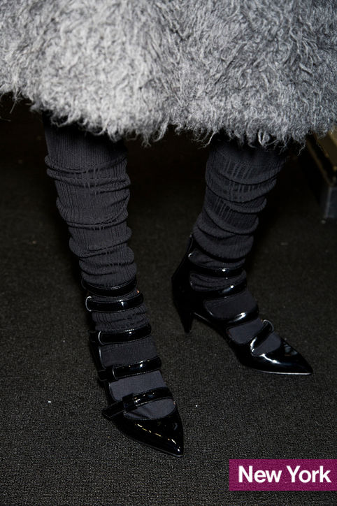 Stylish Shoe Trend from New York Fashion Week: Marc by Marc Jacobs' Multistrap Mary Janes