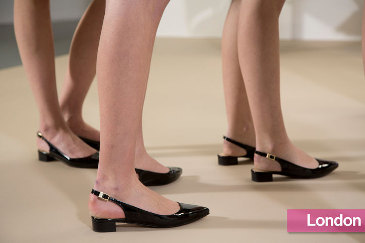Stylish Shoe Trend from New York Fashion Week: Markus Lupfer's Slingback Flats