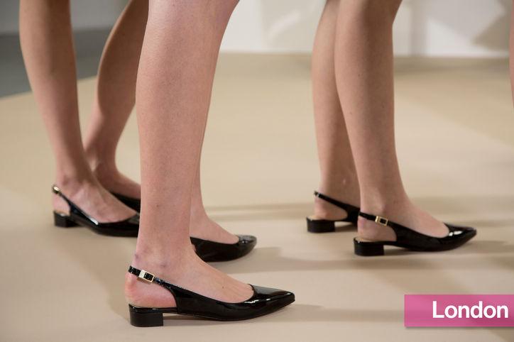 Stylish Shoe Trend from New York Fashion Week: Markus Lupfer's Slingback Flats