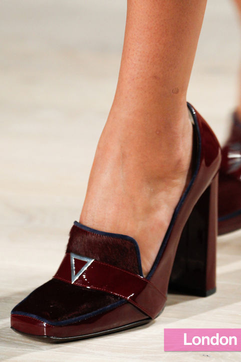 Stylish Shoe Trend from New York Fashion Week: Mary Katrantzou's High-Heel Oxford