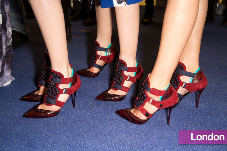 Stylish Shoe Trend from New York Fashion Week: Peter Pilotto's Three-Strap Pumps