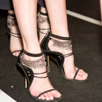 Stylish Shoe Trend from New York Fashion Week: Prabal Gurung's Tiny Bell Ankle-Strap Heels