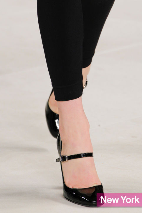Stylish Shoe Trend from New York Fashion Week: Ralph Lauren's Simple Mary Janes