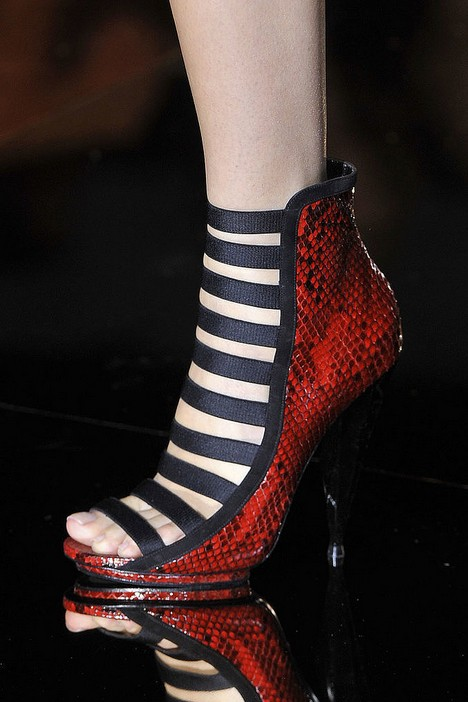 Summer Booties - Gucci Spring 2014